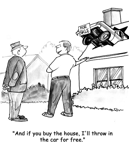 And if you buy the house